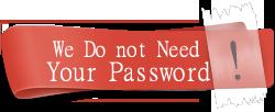 no password